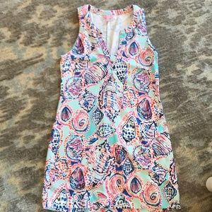 Lilly Pulitzer sz L sleeveless shift dress